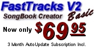 Buy FastTracks V2 Karaoke Song Book Maker BASIC for only $69.95!