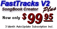 Buy FastTracks V2 Karaoke Song Book Creator PLUS for Only $99.95!
